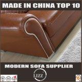 Combinação L sofá do canto da forma com a mobília da HOME do braço