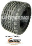 Prensa agricultural da maquinaria de exploração agrícola Imp05 15.0/55-17, propagador, pneumáticos da polarização do reboque de Feedmixer