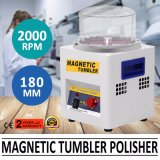 Machine magnétique de polisseur de bijou de culbuteur polissant 4 vitesses