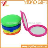 El silicón de encargo compone el fabricante cosmético Pocket del espejo del espejo