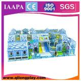 Campo de jogos macio interno do tema quente da neve da venda (QL-16-23)