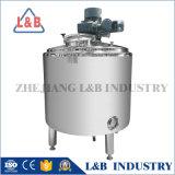 Reator químico sanitário de aço inoxidável