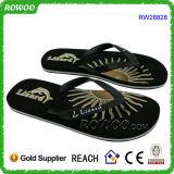 Flops Flip черноты пляжа нового отдыха лета изготовленный на заказ (RW28828)