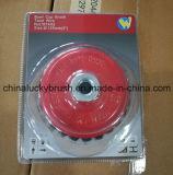 Pincel de 5 polegadas Twist Wire Bowl Cup com nozes M14X2 (YY-643)