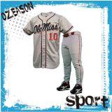 Baseball su ordinazione all'ingrosso Jersey dello spazio in bianco di sublimazione della Cina e pantaloni di baseball