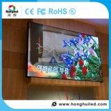 Hoher Wand-Zeichen LED-Schaukasten der Helligkeits-P3.91 video