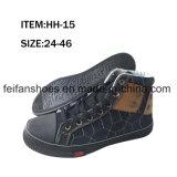 ジーンの上部の子供の注入は蹄鉄を打つHotsaleの履物の靴(FFHH-092608)に