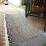 Antiroest staalgrating vloer om bevindend water te verhinderen