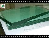 3-42.3mm plano curvo doblado de vidrio templado laminado para construcción