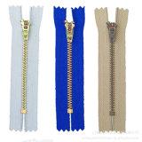 Zipper de bronze #4, Fechar-Extremidade com slider de Yg