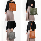 Sellingfancy 최고 형식 새로운 디자인 어깨에 매는 가방 가죽 가방 고정되는 핸드백