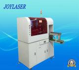 Máquina de fibra óptica automatizada de la marca del laser para los granos de la lámpara del LED