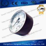 """40mm 1.5 """"軸方向を用いる概要の圧力計"""