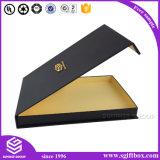 Rectángulo de regalo de papel de empaquetado de la impresión de la cartulina magnética de encargo del encierro