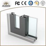 Puerta deslizante de aluminio modificada para requisitos particulares fábrica de la buena calidad