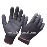 Manteau en acrylique double doublure Nitrile trempé gant de travail en hiver doux