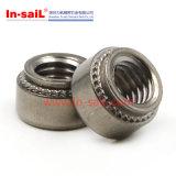 ステンレス鋼の自己の工場価格の締めつけるナットの製造者