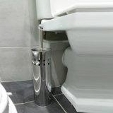 Spazzola e supporto della toletta dell'acciaio inossidabile con rivestimento tagliato quadrato del bicromato di potassio