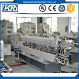 Mini Plastic Pellet Polymer Compounding Paralelo Co-Rotating Twin Screw Extruder Price / Mini PVC Free Foam Double-Stage Plastic Water-Ring Granulador de granulação