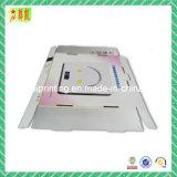 Rectángulo de empaquetado impreso color del papel acanalado
