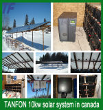 Spitzenverkaufs-komplettes Sonnenkollektor-System mit Installations-Service