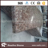 Cheap Chinese Peach Red Granite G687 Stairs with Risers for Steps