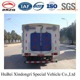 4cbm Dongfeng에 의하여 압축되는 쓰레기 수거 도로 스위퍼 트럭