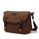 Fornitore rosso del sacchetto del messaggero della tela di canapa di Heavey del cigno (RS-H8141)