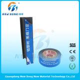 Ruban bleu Impression frontale Polyéthylène pour acier inoxydable