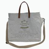 Sac à main matériel lavé blanc de sac d'épaule de papier d'emballage (16A083)