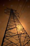 Tour tubulaire de trellis de HDG pour la transmission