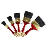 Pinceau en plastique rouge de fil de traitement de qualité