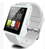 Téléphone intelligent de la montre U8 avec le bracelet intelligent de montre-bracelet de silicium de Bluetooth