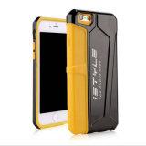 iPhone 6s plus 2 lumineux dans 1 cas de l'iPhone 7s 7plus d'accessoires de téléphone cellulaire (XSEH-022)
