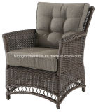 O sofá ao ar livre de alumínio para qualquer tempo da mobília do jardim ajustou-se (TG-2135)
