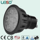 500lm 6W GU10 LED Scheinwerfer mit Zustimmung TUV-SAA