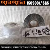 Etiqueta destructible antirrobo de las etiquetas engomadas adhesivas de encargo RFID