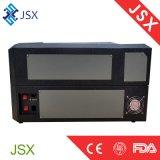 Jsx5030 машина лазера вырезывания малой ткани лазера 35W кожаный высекая