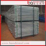 Apoyos de acero ajustables del andamio para la construcción
