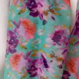 女性のための緑によって印刷されるスカーフ