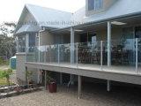 Traliewerk van het Glas van het Ontwerp van de Balustrade van de villa het Veiligheid Aangemaakte in Fiji