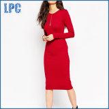 Elegantes nach Maß reizvolles Cocktail-lange Hülsen-Kleider für Frauen