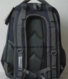 人の多機能1680dナイロンコンピュータまたはバックパック袋、旅行ノートかラップトップのバックパックをハイキングする黒く実用的な様式