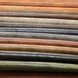 Couro artificial do plutônio da venda quente para a sapata da bolsa (E6083)