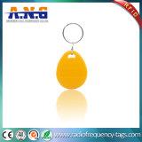 125kHz gele Digitale RFID Keyfob voor Toegangsbeheer