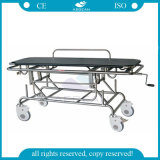Special AG-HS014 de venda quente para esticador manual ferido de transferência do hospital