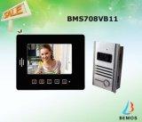 4 Klok van de Deur van het Huis van draden de VideoDoorphone met Intercom