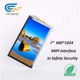 7 écran LCD transparent de TFT LCD de surface adjacente de Pin Mipi de pouce 40