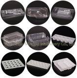 ビスケットの皿のための自動プラスチックパッキング機械か容器またはケース