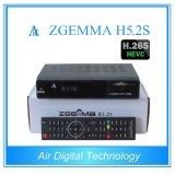 신제품 이중 코어 Bcm73625 H. 265 텔레비젼 암호해독기 쌍둥이 DVB S/S2 Zgemma H5.2s